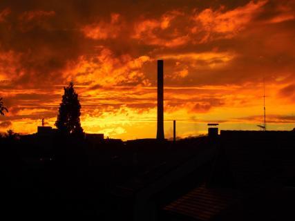 Mannheim brennt