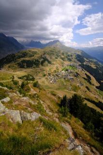 Blick vom Riederhorn