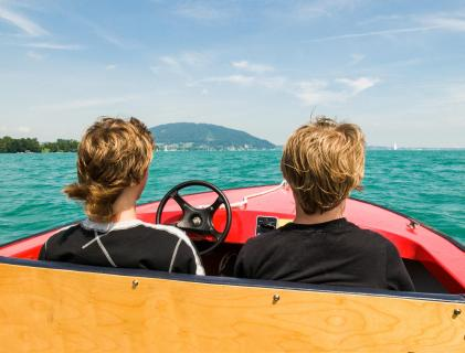 Bootsfahrts Attersee