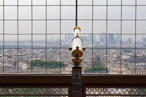 Fernrohr Eiffelturm