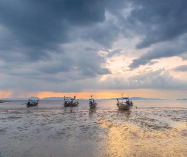 Klong Muang Beach sunset