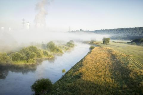 Nebel an der Ruhr