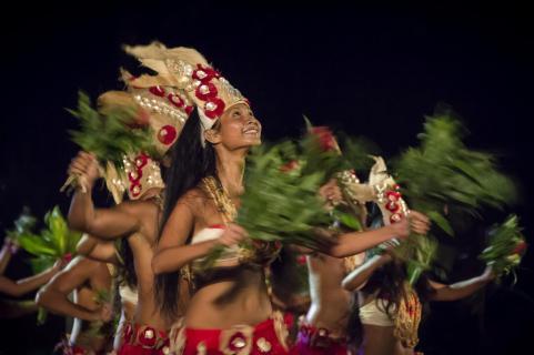 Hula auf Tahiti