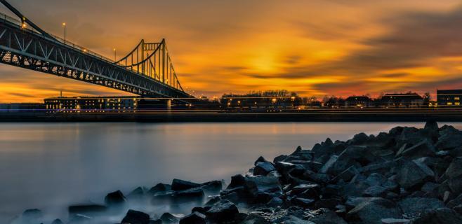 Uerdinger Rhein Brücke