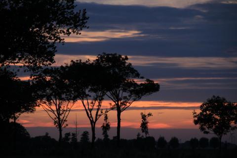 Sunset in Ostfriesland