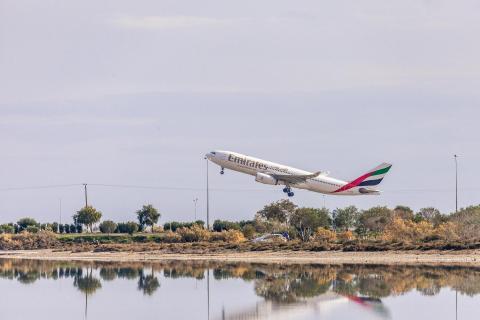Flying Emirates