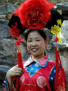 Chinesische Braut