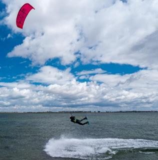 Das Spiel mit Wind und Wasser