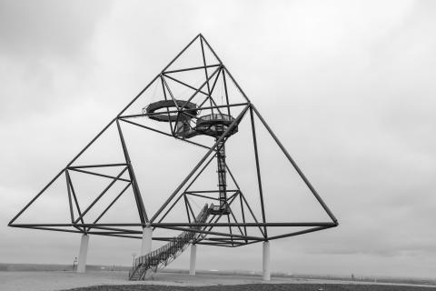 Transparente Pyramide