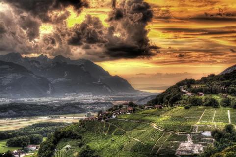 Zwischen Genfer See und Mont Blanc