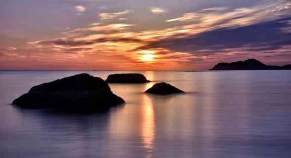 09 Norw Sonnennacht am Nordmeer