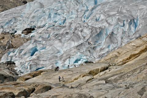 Strukturen Gletscher