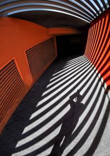 Strukturen Schatten Portrait