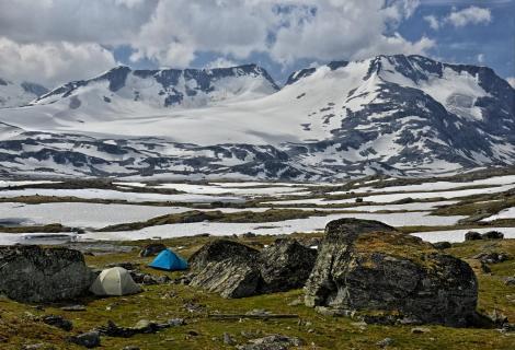 Lager im Fjell
