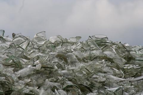 Glas fürs Recycling