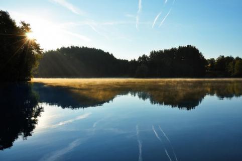 Morgenspiegelung