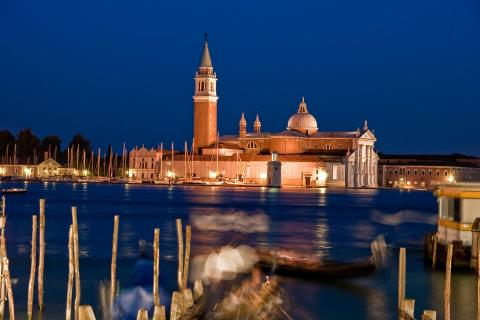 Venedig, Kirche San Giorgio bei Nacht