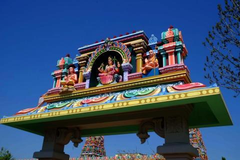 Eingang Hindutempel Hamm