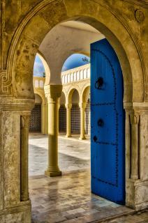 tür zur Moschee
