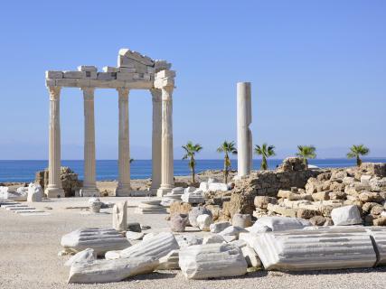Ruinen des Apollon Tempels