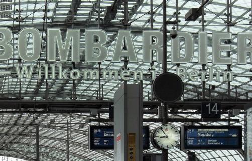 Hauptbahnhof Berlin Innen Oben