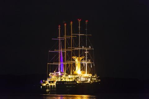Kreuzfahrtschiff Club Med 2 im