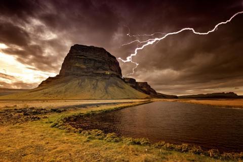 Island eiskalt erwischt!