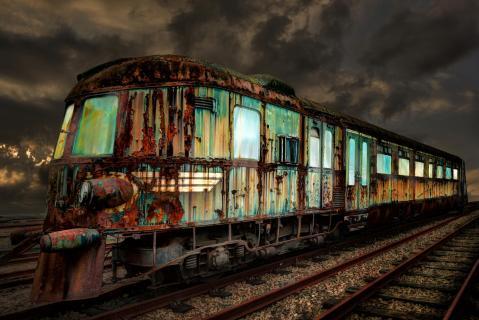 Le vieux train