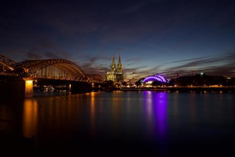 cologne city light