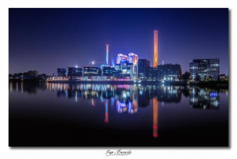 Heizkraftwerk Westhafen Frankfurt