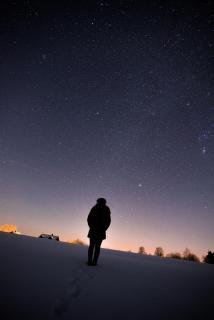 Weg zu den Sternen