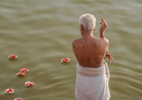 Gläubiger am Ganges