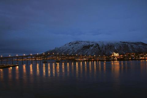 Brücke zu Tromsoe