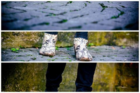 Schuhe  mit Perspektive