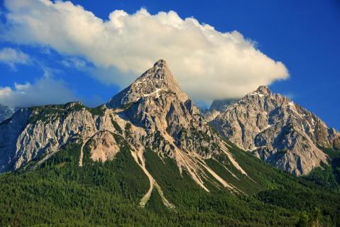 Lachender Berg