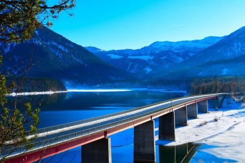 Brücke am Sylvensteinsee BBB 0928a_097