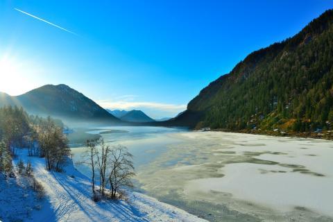 Sylvensteinsee im Dezember 2016 BBB 0969a_101