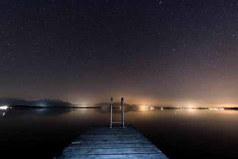 20180407 Sternenhimmel Chiemsee Nacht DSC 0305ak