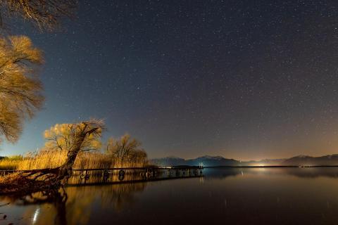 20180407 Sternenhimmel Chiemsee Nacht DSC 0253ak
