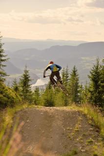 Norwegen Hafjell Bikepark