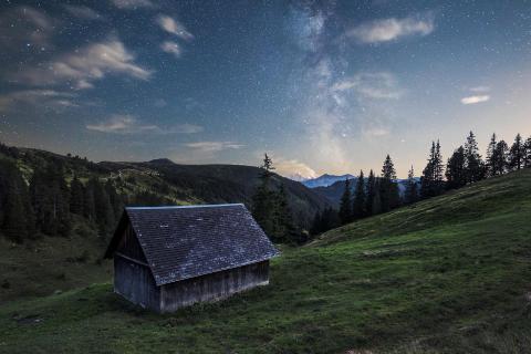 Einsame Hütte II