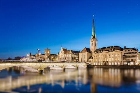 Zürich Münsterbrücke