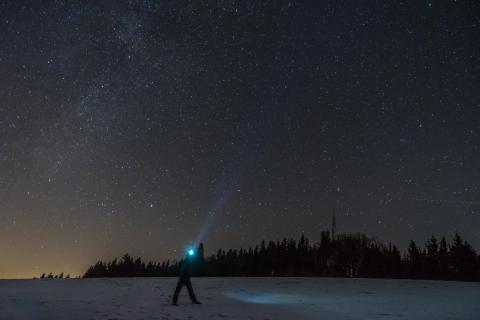 Auf der Suche nach der Milchstraße