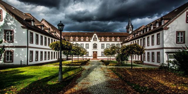 Kloster Brede (kurz vor dem Wolkenbruch)