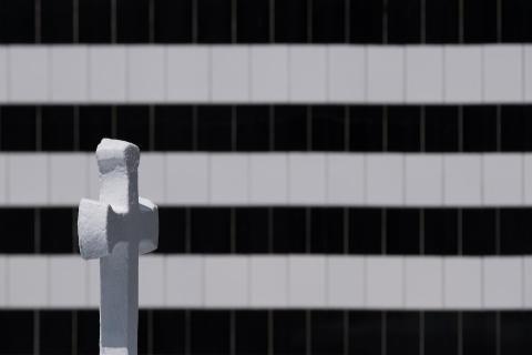 weißes Kreuz