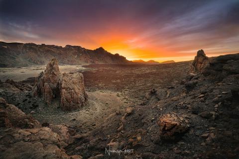 Teide Sonnenuntergang