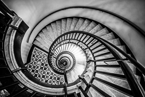 beautiful spiralstaircase