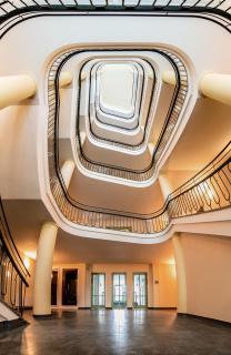 big beautiful staircase