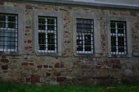 Gitter vor Fenster
