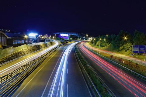 St. Gallen @ night 2017